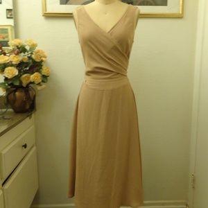 A.B.S by Allen Schwartz Vintage Wrap Dress